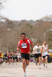 Runners race up Heartbreak Hill Royalty Free Stock Photos