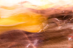 Runners running in city marathon, motion blur on sporty legs Royalty Free Stock Photography