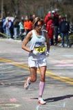 Runners running up Heartbreak Hill Stock Photos