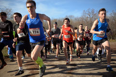 Runners started Royalty Free Stock Photos