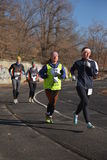 Runners taking part in the competition Royalty Free Stock Photography