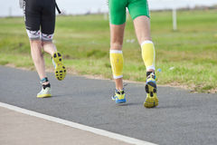 Runners triathlon Stock Photography