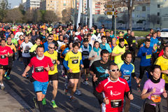 Runners Royalty Free Stock Images
