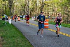 Runners and Volunteers at the 2021 Blue Ridge Marathon