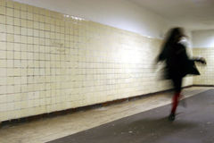 runnign γυναίκα Στοκ Εικόνες