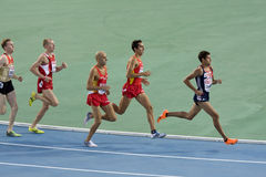 Running 1500 meters Stock Photography