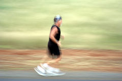 Running. Runner in training royalty free stock images