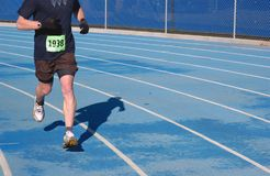 Running. Man running Royalty Free Stock Photography
