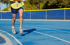 Running. Man running Royalty Free Stock Photos
