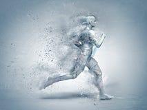 Running,abstract stock photo