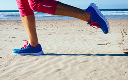 Free Running At Beach Stock Photos - 41218333
