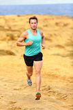 Running athlete man Royalty Free Stock Image