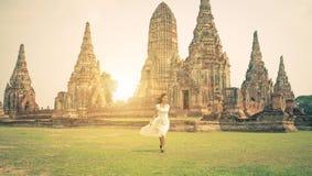 Running in Ayutthaya Stock Photos