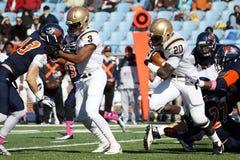 Running back Keith Sherman de Lehigh photos stock