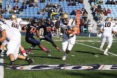 Running back Sean Farrell de Lehigh Images stock