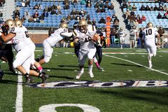 Running back Sean Farrell de Lehigh photographie stock libre de droits