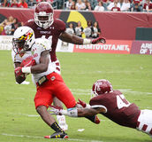 Running back #1 Stefon Diggs du Maryland photographie stock