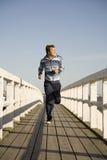 running barn för man Fotografering för Bildbyråer