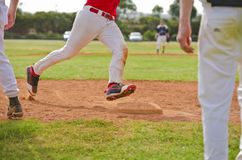 Running bases Royalty Free Stock Photos