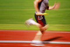 Running the baton Royalty Free Stock Images