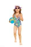 Running beach girl royalty free stock photos