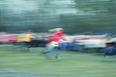 Running blur Royalty Free Stock Image