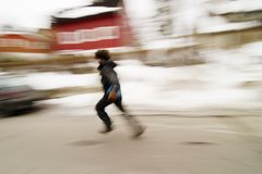 Running Blur Concept Royalty Free Stock Images