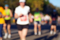 Running Blurred Royalty Free Stock Images