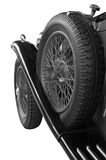 Running board spare wheel Stock Photo