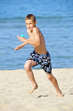 Running boy Royalty Free Stock Images