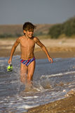 Running boy Royalty Free Stock Photography