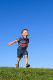 Running boy Royalty Free Stock Photos