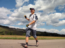 The running boy Royalty Free Stock Images