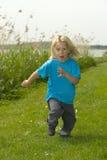 Running boy Stock Image