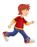 Running_boy Royalty Free Stock Images