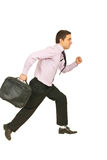 Running business man Stock Photography