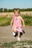 Running child Royalty Free Stock Photo