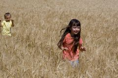 Running children Royalty Free Stock Photography