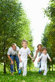 Running children Royalty Free Stock Images