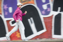 Running in the city Royalty Free Stock Photography