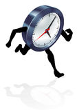 Running Clock Concept Stock Images