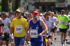 Running competition Stock Images