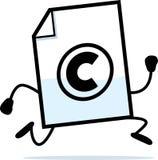 Running Copyright Stock Photo