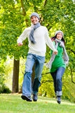 Running couple Stock Photography