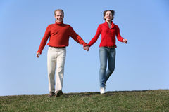 Running couple 2 Royalty Free Stock Photo
