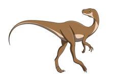 Running dinosaur royalty free stock photo