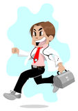 Running doctor Stock Image