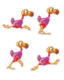 Running Dodo Sprite Royalty Free Stock Photos