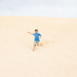 Running downhill Royalty Free Stock Images