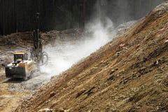 Running drilling machine stock photography